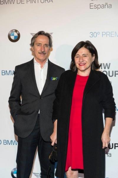 Roberto Torretta y su mujer Carmen